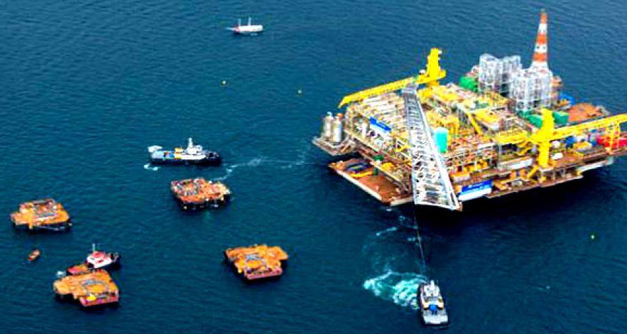 WEG coatings on the new Petrobrás Platforms