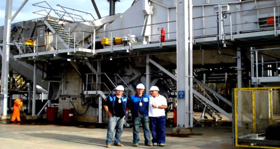 WEG supplies motors for the largest wood chipper in the world